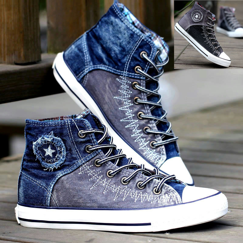 Blue High Top Dc Shoes