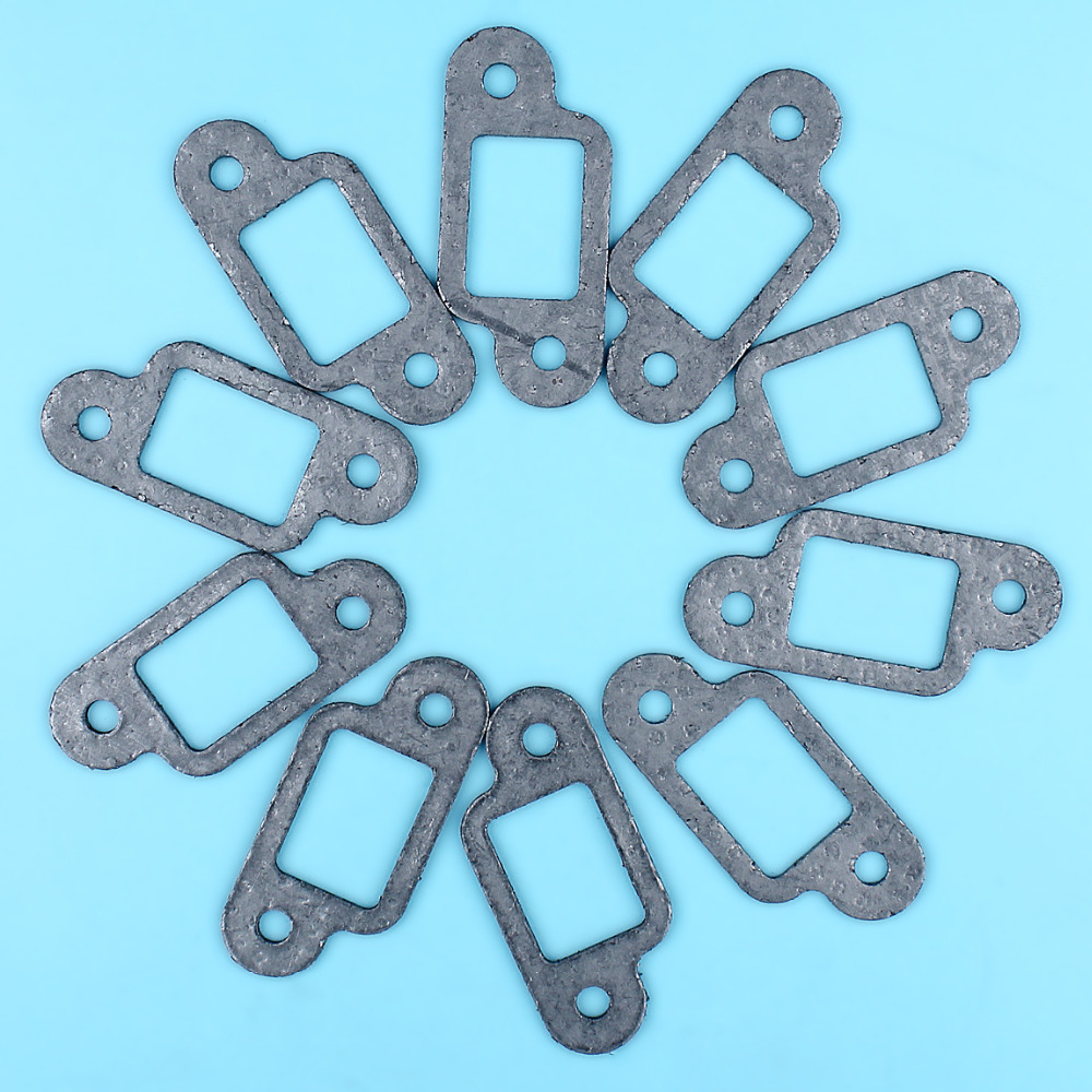 10 X Muffler Exhaust Gasket Set Fit For Stihl MS170 MS180 MS210 MS230 MS250 017 018 021 023 025 Chainsaw Replacement Parts