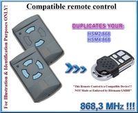 Hormann hsm2와 호환  hsm4 파란색 버튼 원격 제어 868.3 mhz 복제 원격 제어 복사기 자동차 알람 원격