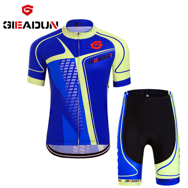 2018 summer short sleeve set cycling Mountain bike clothes breathable jerseys  cycling clothes Clothing Cycling Suit c7b9a9c82
