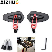 7/8 inches 22mm Universal Motorcycle Rearview Mirrors Motor HandleBar end For KTM Suzuki Yamaha Ducati Kawasaki