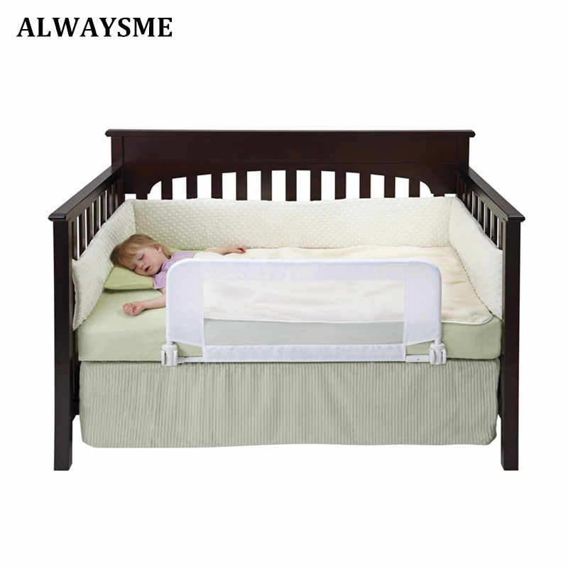 Alwaysme 81X40 Cm Bayi Rental Crib Bed Rel Penjaga