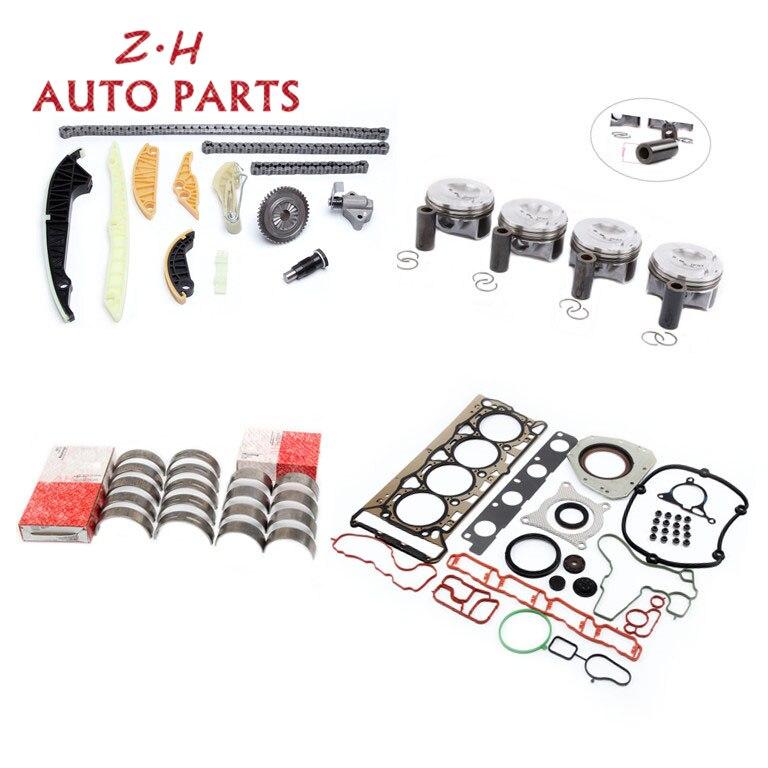 NOVO Pin 23mm EA888 Pistão Do Motor Junta Kit Corrente de Distribuição Tensor Rolamento Para Audi A4 Q5 VW Passat Golf skoda 2.0 t 06H107065DD