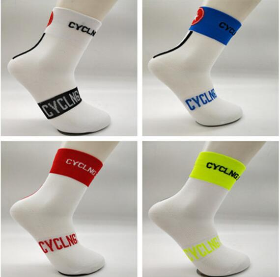 Cycling Stars Unisex Top Quality Professional Cycling Socks Run Outdoor Stocking Mountain Bike Socks