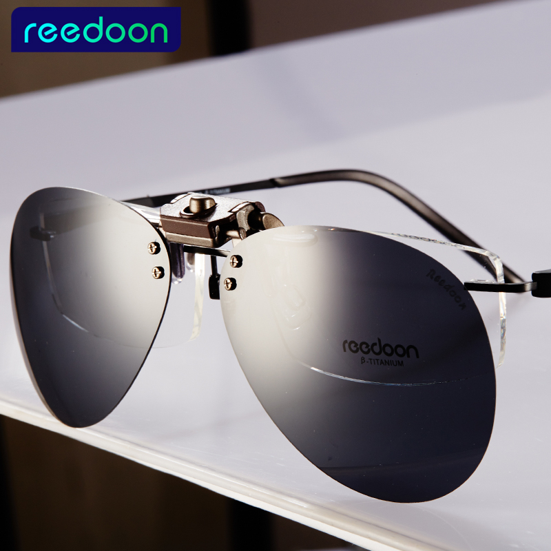 Eyeglasses Frame Sunglasses Clip Brand Polarized Lens Men Women Coating Myopia Clip Sun Glasses font b