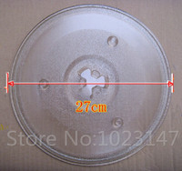 27cm Microwave Oven Glass Plate For Galanz Midea Haier Etc Microwave Oven Parts Free Shpping To