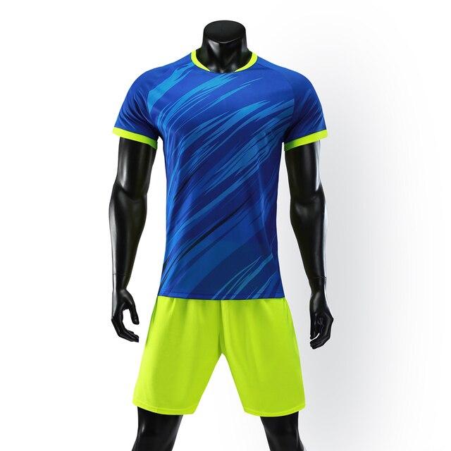 2018 hombres Survetement camisetas de fútbol chándal de voleibol camisetas  de fútbol conjuntos de uniformes de 67d50d054f280
