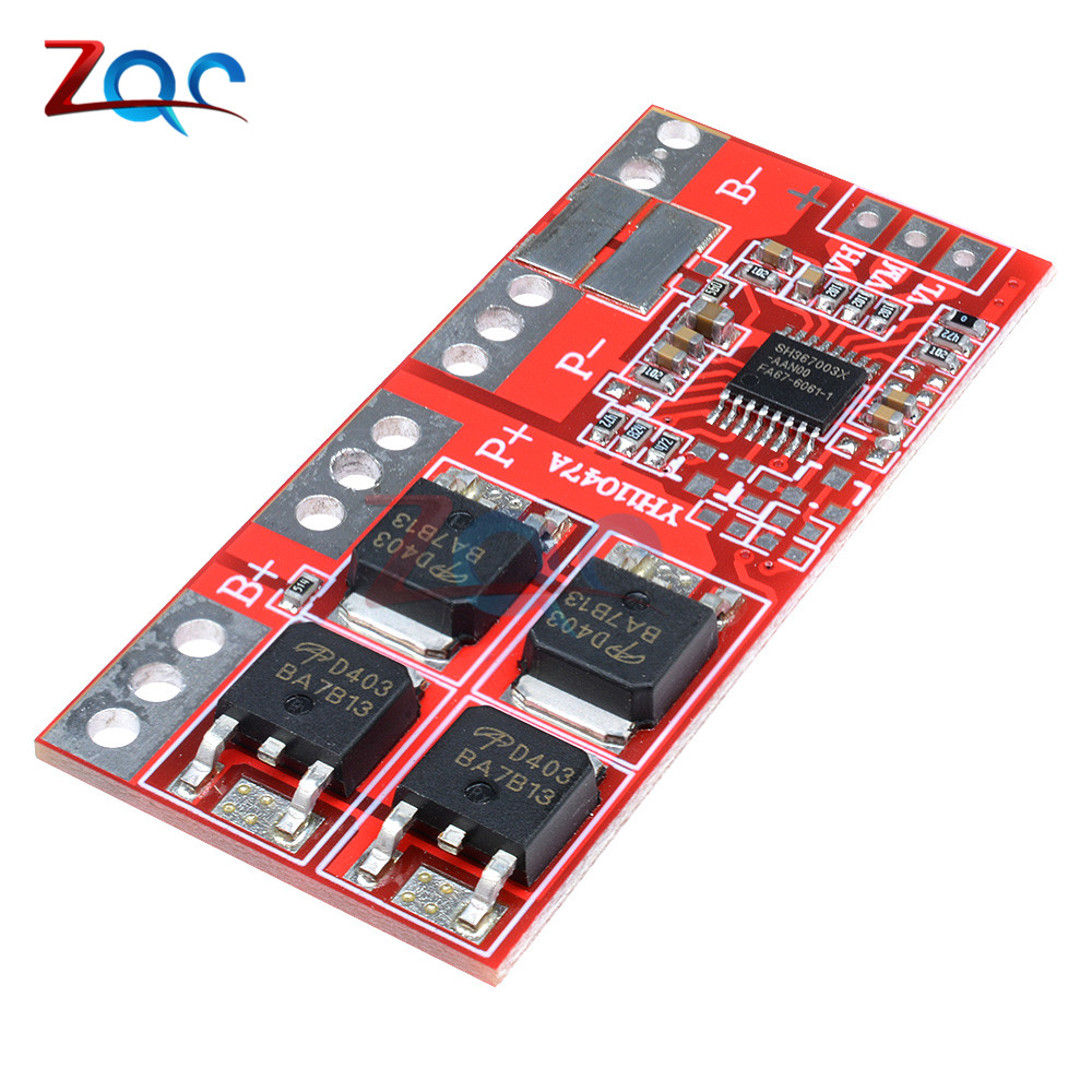 3S 30A Max Li-ion Lithium 18650 Battery Charger Protection Board 12.6V PCB BMS Batteries Protecting Module image