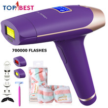 Lescolton 3in1 IPL depiladora Laser Hair Removal LCD Display Permanent Bikini body Armpit face rechargeable depilador T009i