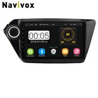 Navivox 2din Android Car DVD GPS For kia rio dvd Car Multimedia Stereo Audio Navigation GPS Player For KIA K2 Rio 2010 2015