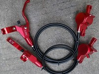 New product original CSC X8.0 ultralight Full CNC 410g Disc hydraulic bicycle brake system