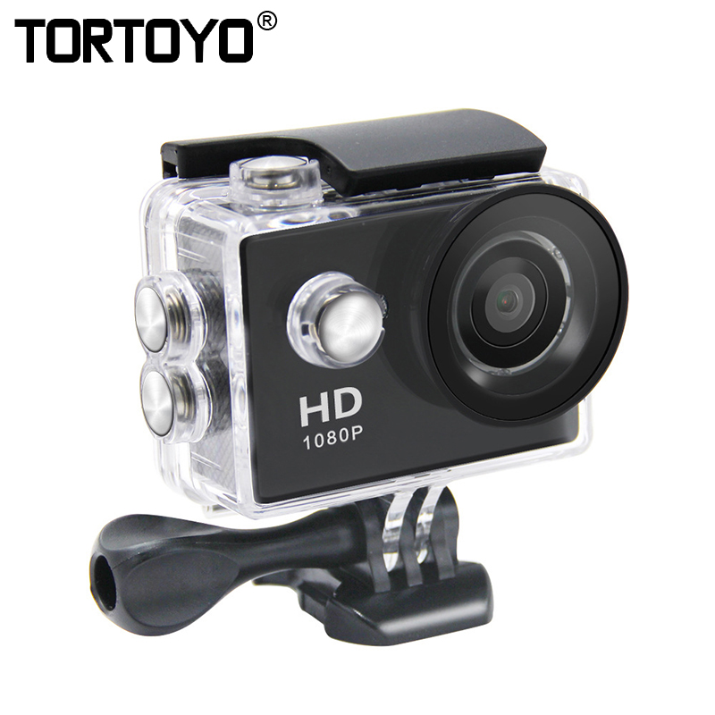 A9 Outdoor Action Camera Ultra HD 1080P Mini Cam 2 LCD Screen Underwater 30M Waterproof Video