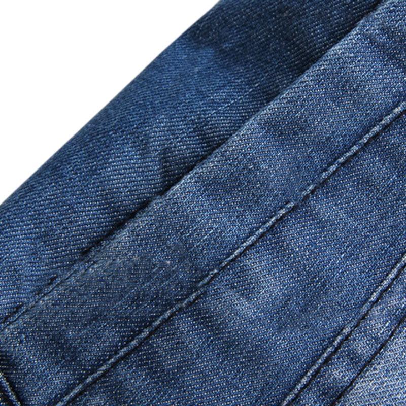 5xl Calidad Capa Alta 2017 Los Blue Casual Breasted Clásico Tendencia Gruesa Vaqueros Moda Invierno De Hombres Chaqueta Nueva Denim vTvqH