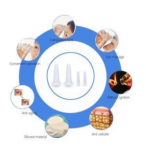 Image 4 - 7PCS 얼굴 및 바디 마사지 컵 치료 세트 트리거 포인트 통증에 대 한 진공 실리콘 컵 바디 셀 룰 라이트 치료
