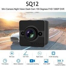 100% Оригинальные SQ12 HD 1080 P Широкий формат Сенсор Ночное Видение цифровая мини видеокамера Видео Cam Спорт DV Малый Камера PK SQ11 SQ13 SQ23