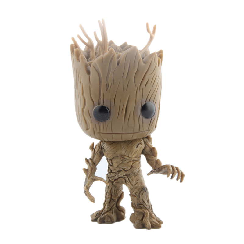 Elsadou #49 Guardians of the Galaxy Stand Tree Man PVC Action & Toy Figures Children Toys Doll