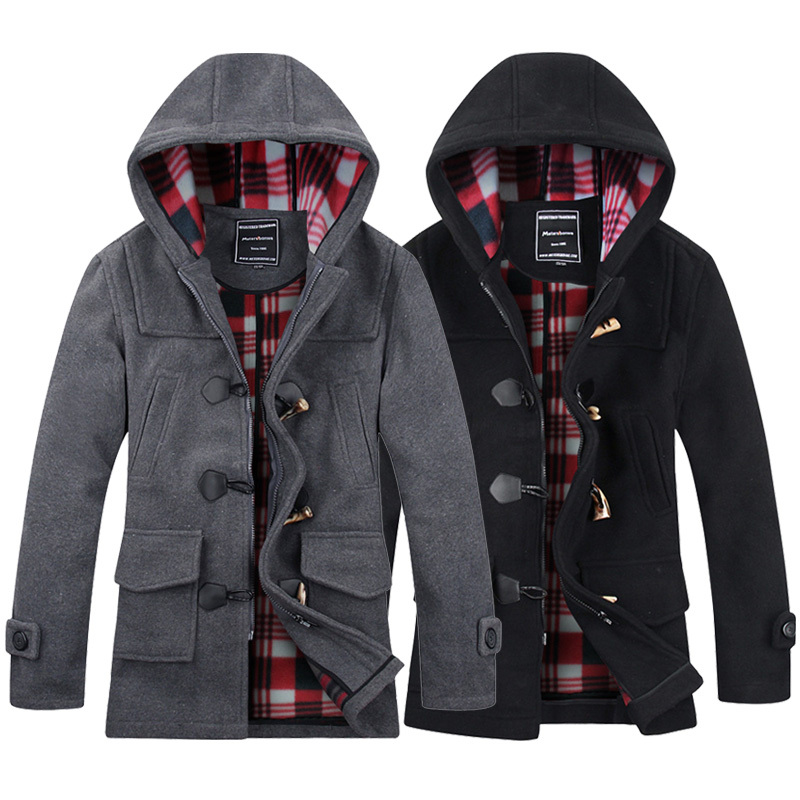 Online Get Cheap Mens Peacoat Jacket -Aliexpress.com