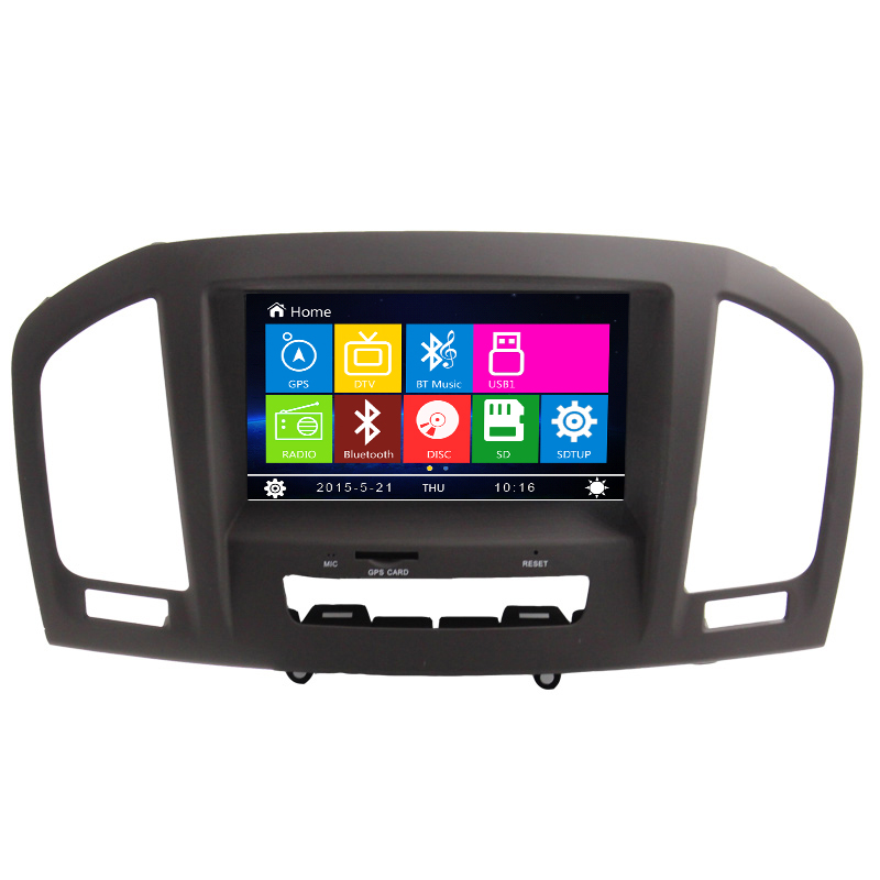 Factory Prices GPS Navigation For Opel inganl Rear camera RDS IPOD HD Touch Screen Canbus Bluetooth