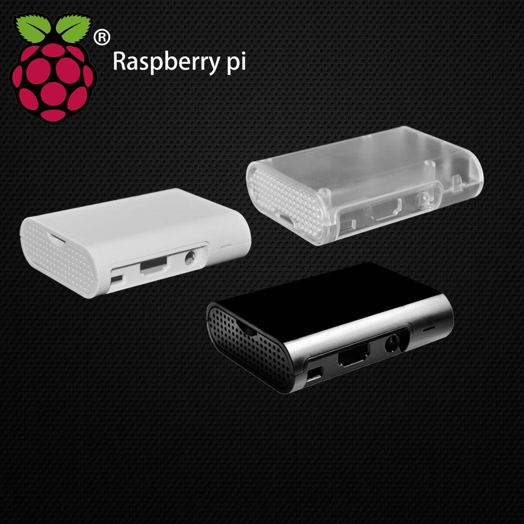 50pcs lot 2018 New Version Raspberry Pi Model B B Plus B2 Black Case Cover Shell