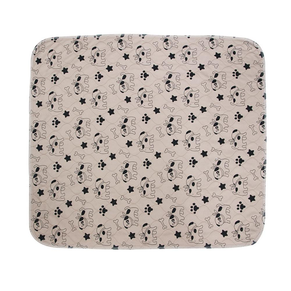 Pet Dog Pee Pad Three-layer Waterproof PVC Cute Pattern Cat Urine Pad Reusable Washable Pee Mattress Cushion Собака
