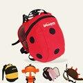 Хлопок носить мешочек детские игрушки детские плеча сумка 1-3 лет дети Anti-lost Lost милый мультфильм мешок aTRQ0612