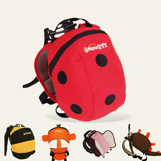 Cotton wear a small bag of toys Children baby shoulder satchel 1-3 years old children Anti-lost Lost cute cartoon bag aTRQ0612