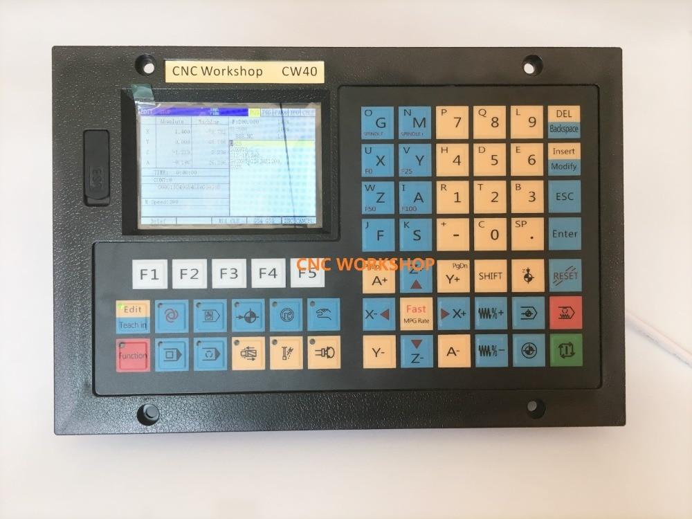 Controller CNC a 4 assi USB sostituire mach3 Controllo MPG Stand - Macchine utensili e accessori - Fotografia 2
