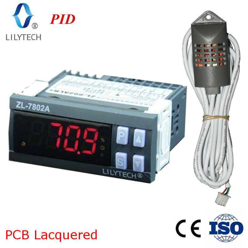 ZL-7802A, 100-240VAC, PID Temperatur Feuchtigkeit inkubator, Multifunktionale Automatische inkubator, Inkubator Controller, Lilytech