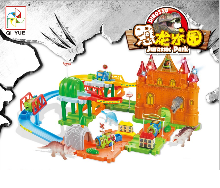 ФОТО Free Ship Track Electric Train Building Block Toy Gift Learning&Educational Toys For Chilren 2129 Withno Box
