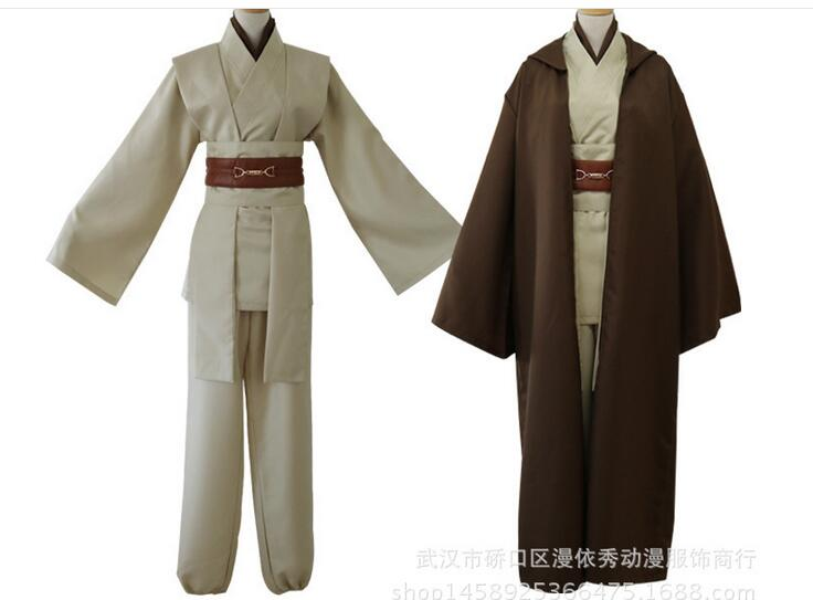 Free shipping Star Wars Jedi Knight Anakin Skywalker hot selling role playing Uniform Cosplay Costume Full