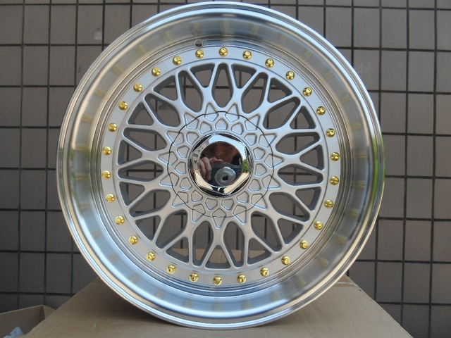 19 SILVER RS STYLE RIMS 19X85 WHEELS FITS BENZ JDM HONDA