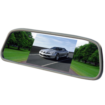 4.3 inch screen TFT LCD Color Display Parking rear Car Mirror HD Car Monitor for Rear view Camera Night Vision Reversing
