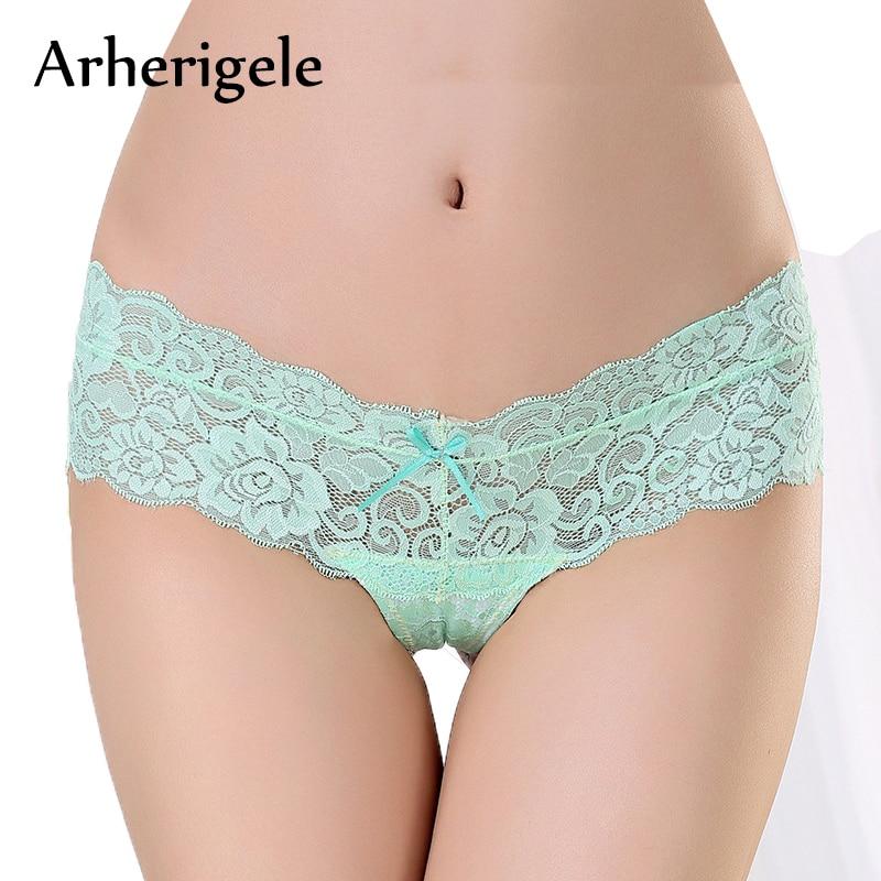 Buy Sexy Lingerie Panties Women Underwear String Thongs Seamless G-String Briefs Panties Low Waist Hollow Transparent Underpant