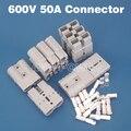 El Envío Gratuito! 50A conector plug power conector de terminal de la batería de coche Eléctrico de corriente Grande