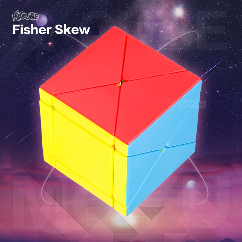 Moyu Fisher Skew Cube X-cube 3x3x3 Cubo Magico Puzzles For Adults Games Education Toy Antistress Toys For Children Strange Shape(China)
