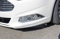 CHROME FRONT FOG BUMPER COVER MOLDING TRIM For FORD FUSION 20013 2016
