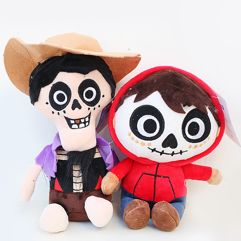 Movie COCO Pixar Character Plush Toys 20cm COCO Miguel Hector Plush Stuffed Toys Doll Soft Toy For Kids Children Gifts