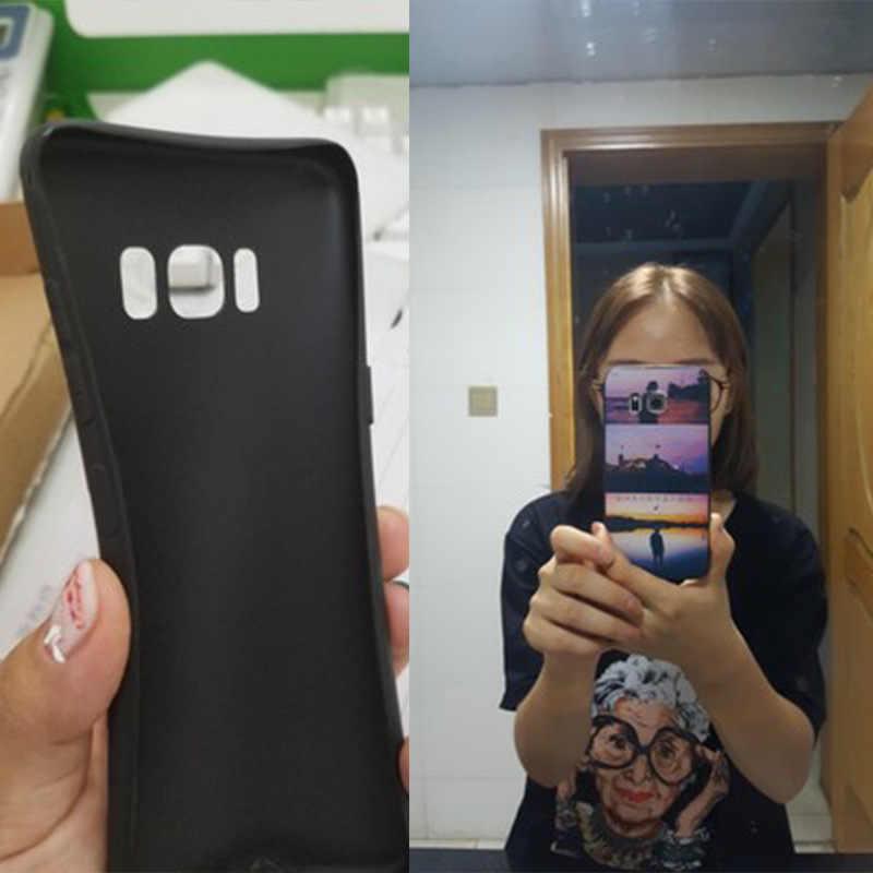 Yinuoda Artístico Van Gogh Hot Moda Divertida Dinâmica borda caixa do telefone Para samsung galaxy s8 s7 s9 s6 edge plus s5 caso