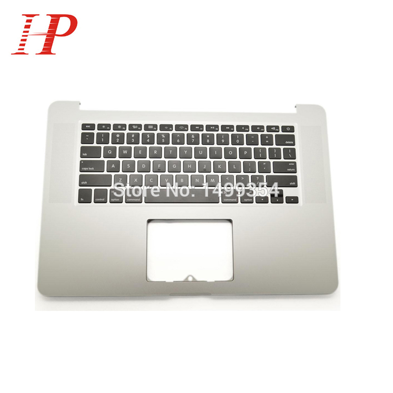 цены на Original Palmrest Cover For Apple Macbook A1398 15'' Top Case Laptop Wrist Rest With US Keyboard 2012 Year MC975 MC976