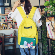Фотография MIWIND Fashion Backpack Women Leisure Travel Rucksacks for Girls Teenager Daily Style School Bag XM025