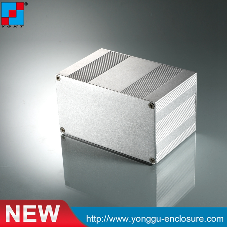145-82-Nmm(W-H-L)Extruded Aluminum Electronic Sensor Enclosure Pcb Instrument Box Case Project,extruded aluminum case 215 52 263 mm w h l aluminum extruded enclosures housing project box case