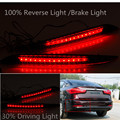 Brand New Car Red LED Rear Bumper Reflector Light Brake Light Tail For Kia K3 Cerato Forte 2012 2013 2014