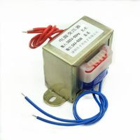 EI66 transformer 50W/VA input 220V 380V to output 6V/9V/12V/15V/18V/24V/single voltage AC power supply