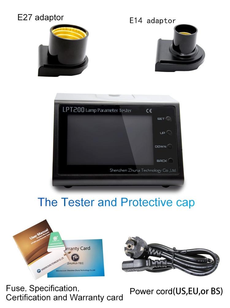 Hordozható LPT200 LCD energiamérő / teljesítménymérő - Mérőműszerek - Fénykép 3
