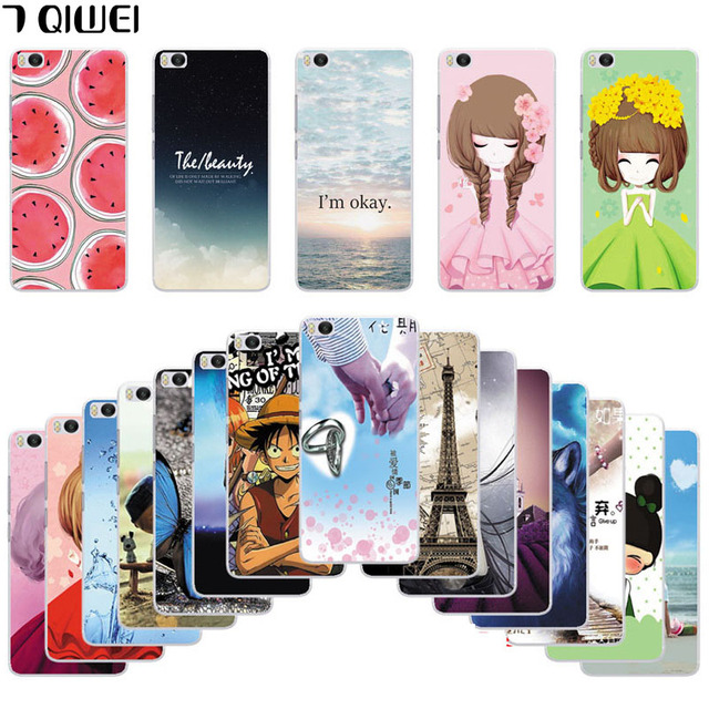 Cute Phone Cases For Xiaomi Mi 5S Case Soft Silicone Printing Cool Back Cover For Xiaomi Mi5S Case Mi5 S TPU Watermelon Funda