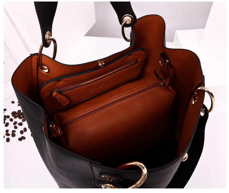 8438a81d20 2016 Luxury Handbags Women Bags Designer Famous High Quality Pu Leather Bags  Womens Hand bags Designers New Large Capacity Bag-in Shoulder Bags from  Luggage ...