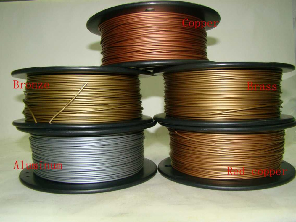 Reprap 3d printer 1 75mm filament metal material