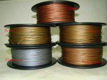 Reprap 3d-drucker 1,75mm filament metall material