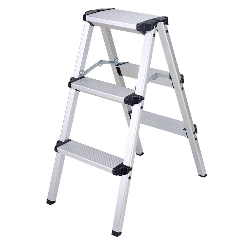 (Ship From EU) 3 Steps Aluminium Alloy Scaffold Platform Extension Multi Purpose Ladder Tool