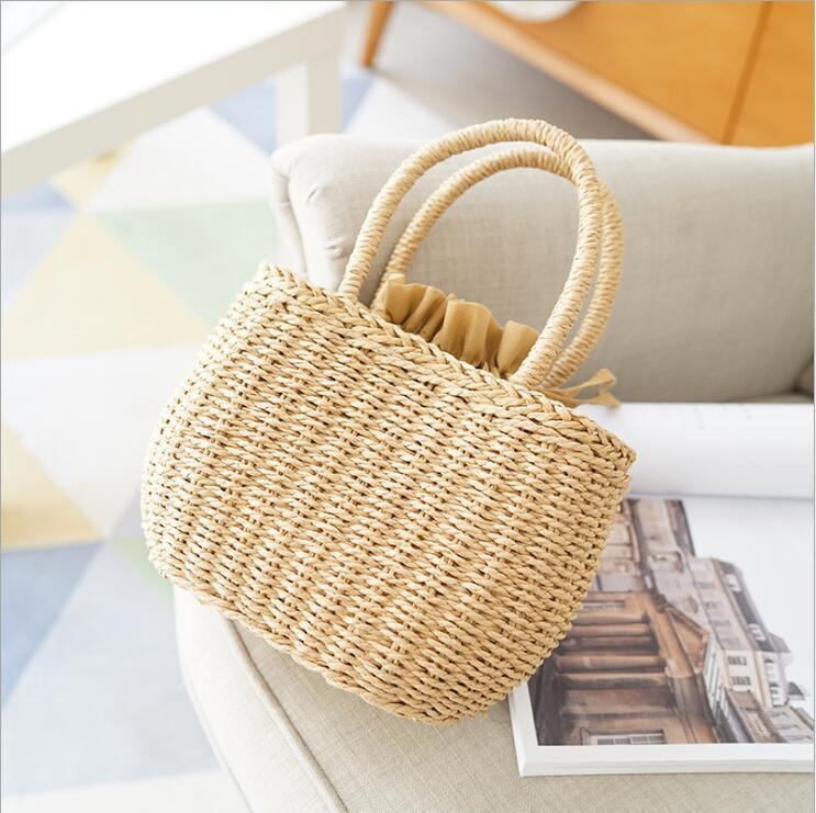 Berömda Designer Ladies Vävda Knitting Messenger Crossbody Väskor - Handväskor - Foto 2